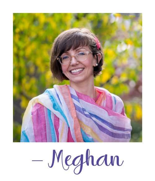 Polaroid of Meghan